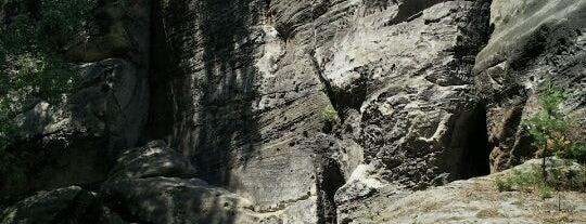 Samuelova jeskyně is one of Doly, lomy, jeskyně (CZ).