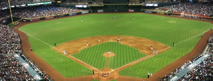 Chase Field is one of Sport Staduim.