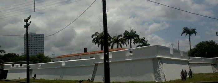 Forte das Cinco Pontas is one of Turistando em Pernambuco/Tourism in Pernambuco.