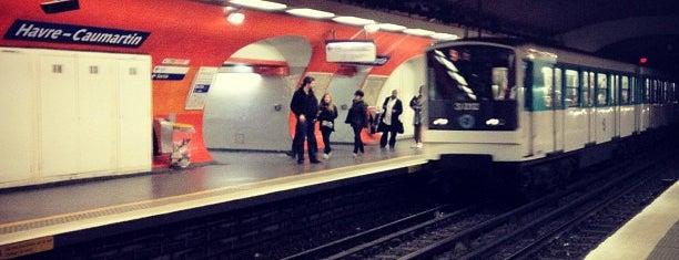 Métro Havre-Caumartin [3,9] is one of Stations de metro a Paris.