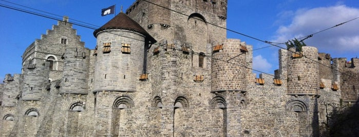 Gravensteen / Castle of the Counts is one of Ghent for #4sqCities president!.