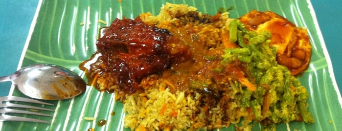 Hussain Nasi Kandar ANEKA is one of All-time favorites in Malaysia.