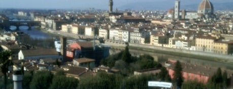 Piazzale Michelangelo is one of Under the Florence Sun - #4sqcities.