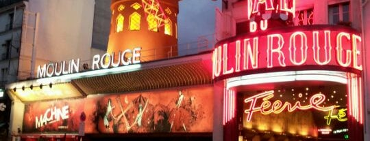 Moulin Rouge is one of Must-See Attractions in Paris.