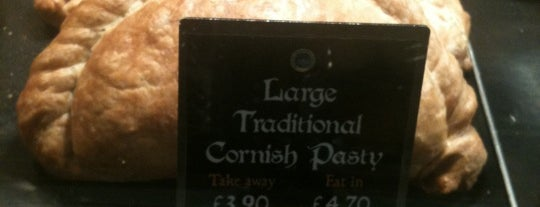 West Cornwall Pasty Co. is one of Richmond Good Food Guide.
