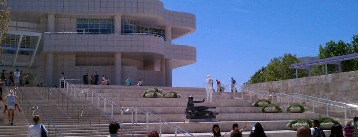 J. Paul Getty Museum is one of Los angeles.