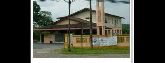 Masjid Bukit Diman is one of @Hulu Terengganu.