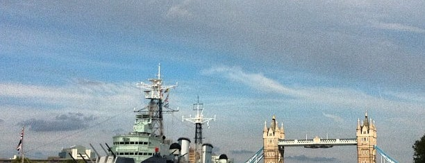 HMS Belfast is one of Must-visit Great Outdoors in London.