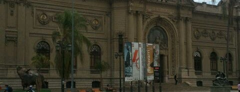 Museo Nacional de Bellas Artes is one of Santiago, Chile #4sqCities.