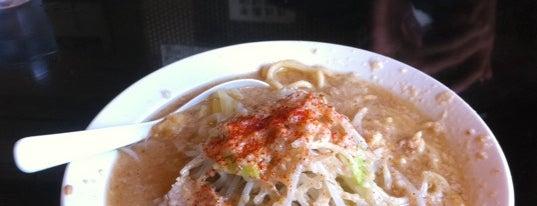 らぁ麺三軒屋  岬本店 is one of らめーん(Ramen).
