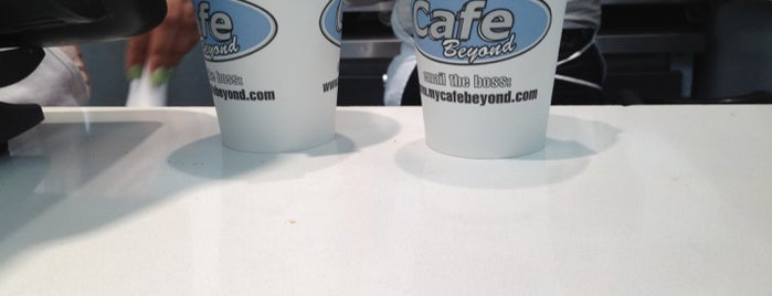 Cafe Beyond is one of #RallyDowntown Scavenger Hunt.