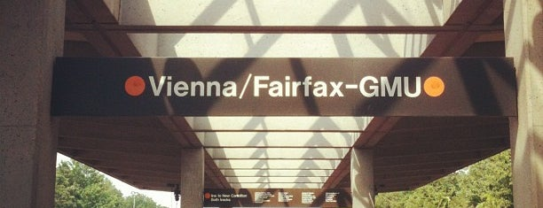 Vienna/Fairfax-GMU Metro Station is one of WMATA Train Stations.