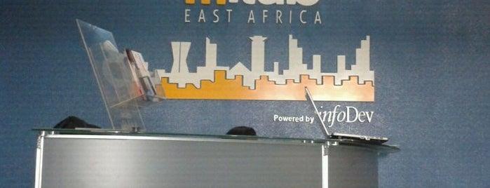 mLab East Africa is one of Hackerspaces.