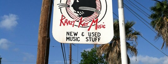 Krazy Kat Music is one of Best Music Shops in San Antonio, TX.