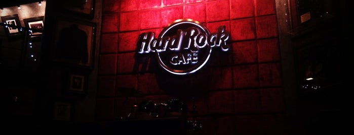 Hard Rock Cafe Pune is one of Top joints in Koregaon Park.