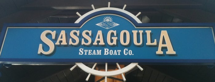 Sassagoula Steamboat Co. is one of Best Kept Secrets? of Disney.