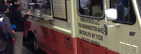 Kimchi Taco Truck is one of NYC Food Trucks.
