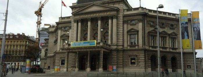 Volkstheater is one of Exploring Vienna (Wien).