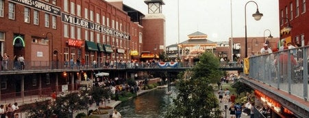 Bricktown District is one of Oklahoma City's Best!  #visitUS.