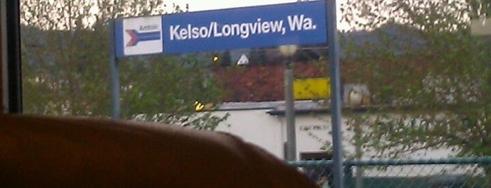 Amtrak - Kelso is one of My Saved Places.