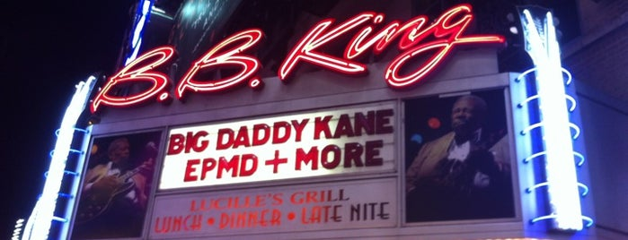 B.B. King Blues Club & Grill is one of Free Things to Do in New York.