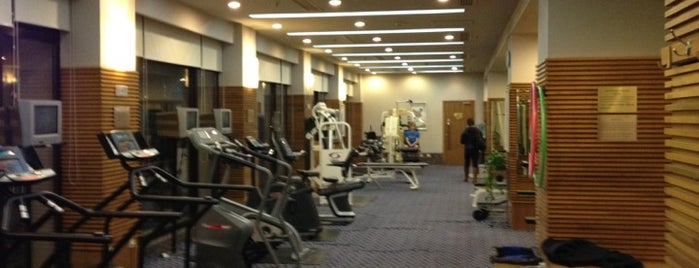 East Lake Club Gym is one of Healthy Beijing.