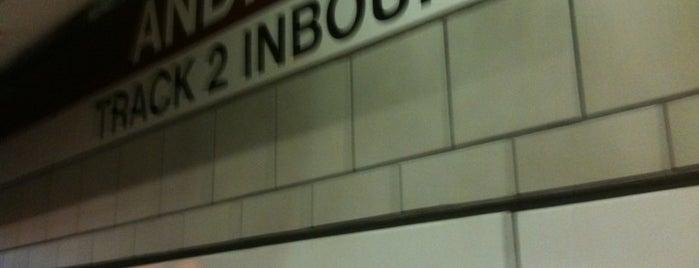 MBTA Andrew Station is one of Boston MBTA Stations.