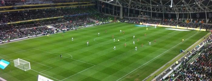 Aviva Stadium is one of Dublin Tourist Guide.