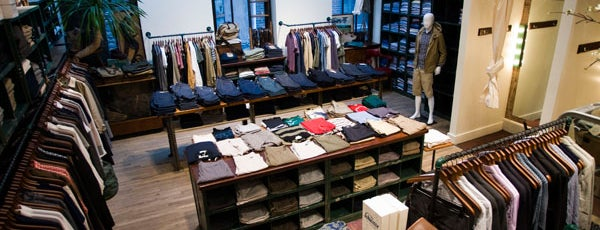 "Steven Alan Annex - Tribeca is one of Our ""Young Guns"" Favorite Shops in NYC."