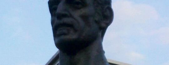 Frank Zappa Statue is one of Baltimore City Badge - Charm City.