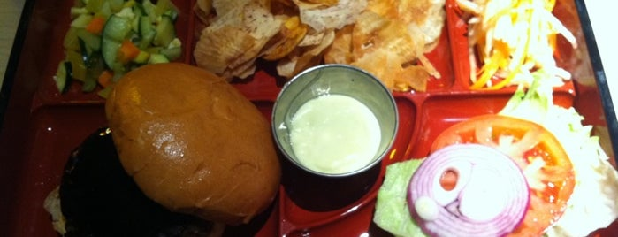 Bento Burger is one of New York.