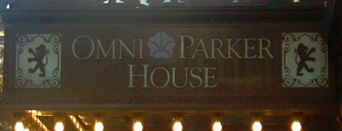Omni Parker House is one of Museums & History.