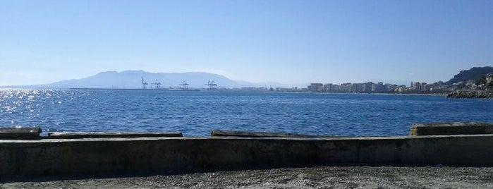 Terraza el Balneario is one of 101 cosas que ver en Málaga antes de morir.