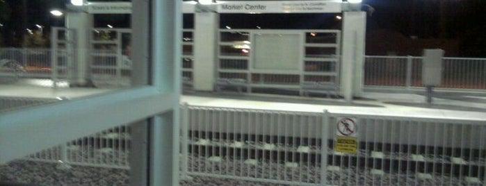 Market Center Station (DART Rail) is one of DART Orange Line.