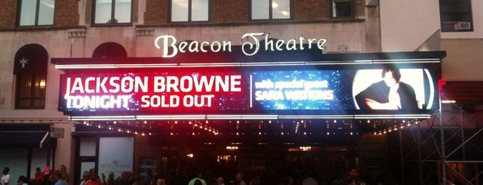 Beacon Theatre is one of NYC's Upper West Side.