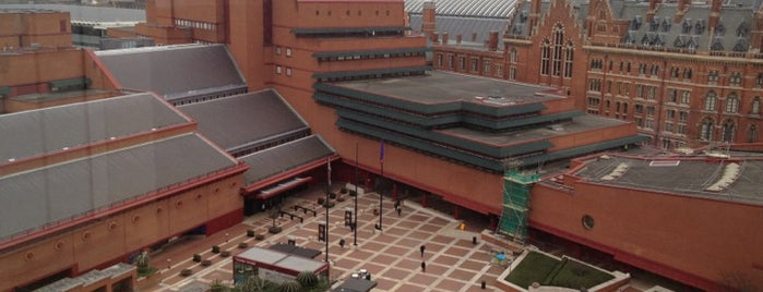 British Library is one of Must-visit Great Outdoors in London.