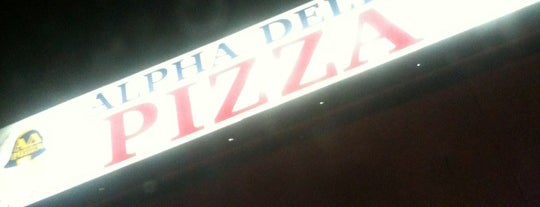 Alpha Delta Pizza is one of New Haven.