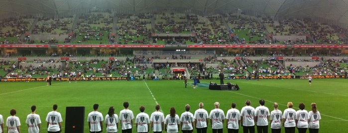 AAMI Park is one of Soccer.