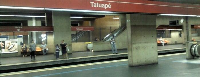 Estação Tatuapé (Metrô) is one of Transporte.