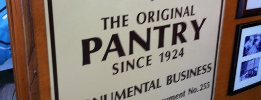 The Original Pantry is one of Californie.