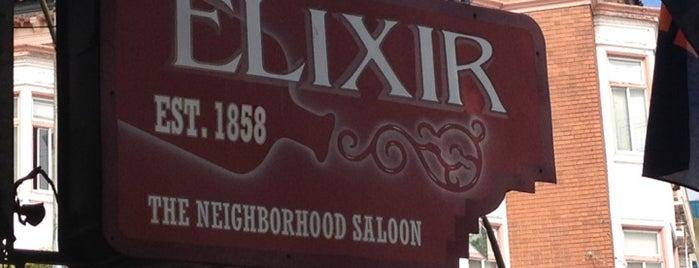 Elixir is one of Bar Spots.