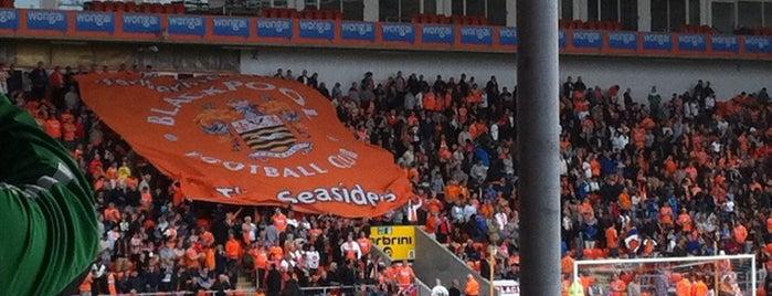 Blackpool Football Club is one of Stadiums.
