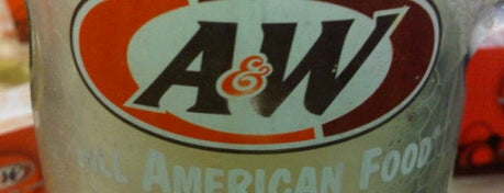 A&W is one of 10 favorite restaurants ;p.