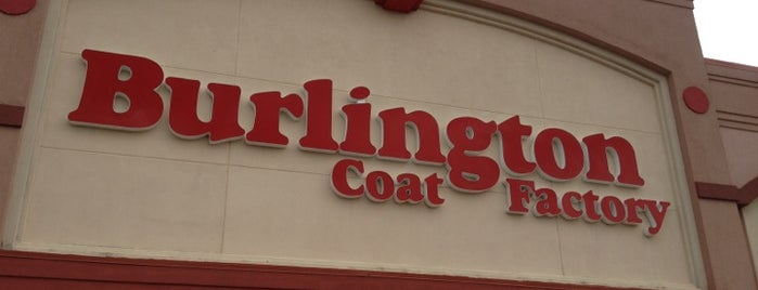 Burlington Coat Factory is one of Top picks for Clothing Stores.