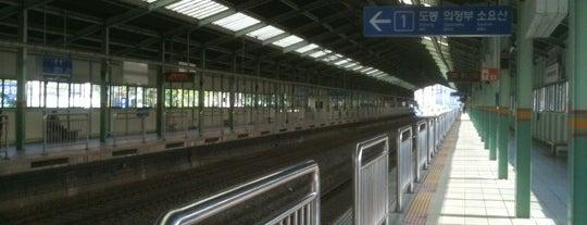 방학역 (Banghak Stn.) is one of Subway Stations in Seoul(line1~4 & DX).