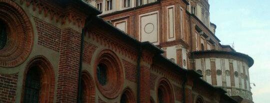 Santa Maria delle Grazie is one of Milan City Badge - Milano da bere.