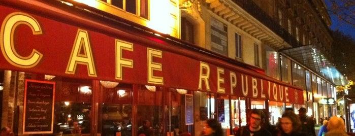 Café République is one of Wifi Cafés.