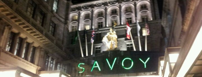 Savoy Theatre is one of My United Kingdom Trip'09.