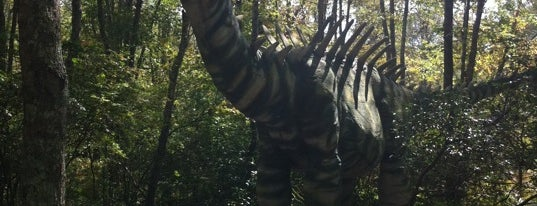 The Dinosaur Place at Nature's Art Village is one of Take a Trip to Mystic, CT..