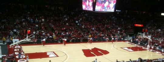The Kohl Center is one of Athletics.